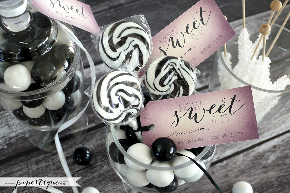 Papertique - Candy Buffet Tags