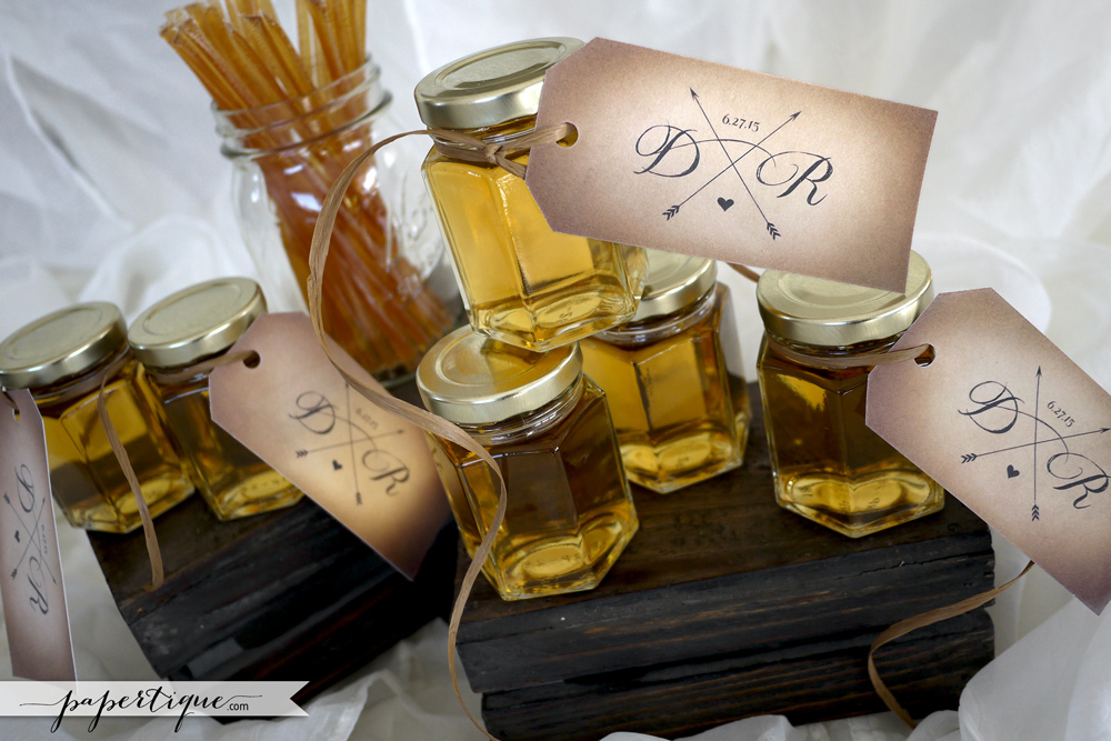 Papertique - Personalized Honey Favors